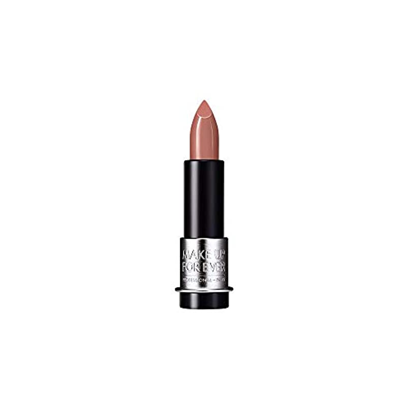 反対びっくり型[MAKE UP FOR EVER] キャラメルベージュ - これまでアーティストルージュマット口紅3.5グラムのM101を補います - MAKE UP FOR EVER Artist Rouge Mat Lipstick...