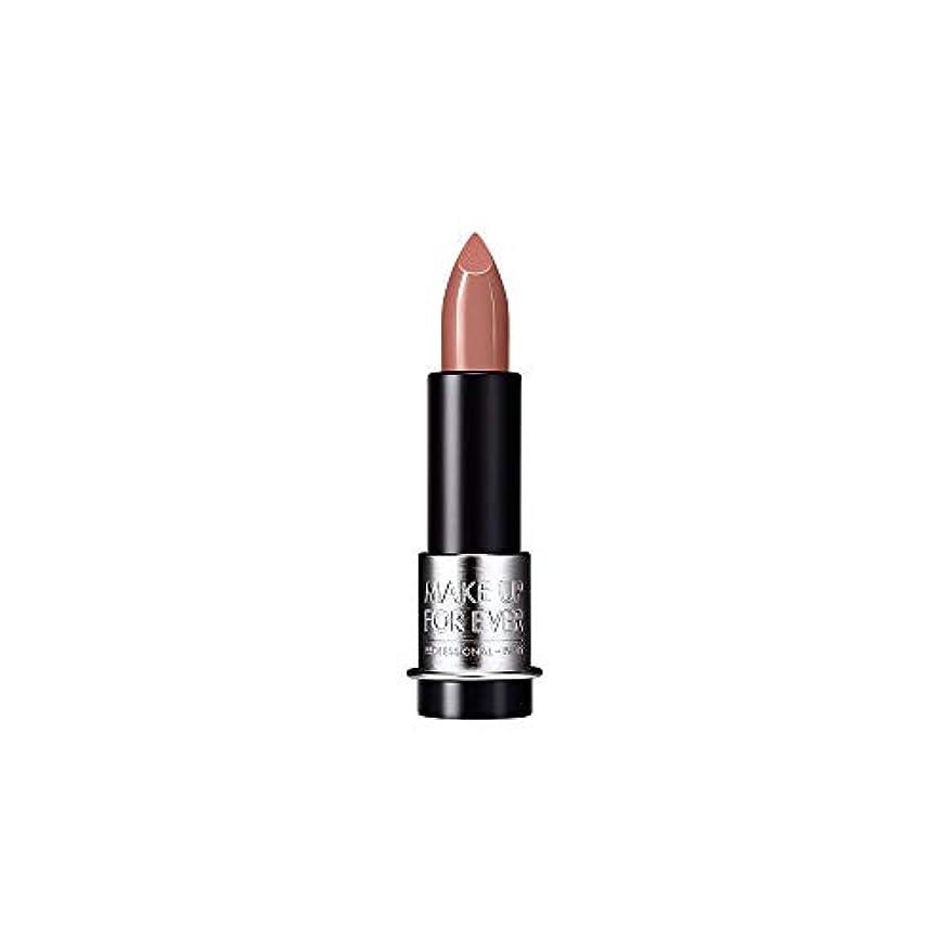 ハンサム寄り添う風が強い[MAKE UP FOR EVER] キャラメルベージュ - これまでアーティストルージュマット口紅3.5グラムのM101を補います - MAKE UP FOR EVER Artist Rouge Mat Lipstick 3.5g M101 - Caramel Beige [並行輸入品]