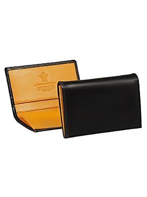 [エッティンガー] ETTINGER 名刺入れ(カードケース) ブラック LEATHER CARD CASE BH143JR BLACK [並行輸入品]