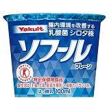 【冷蔵】【特定保健用食品】 ヤクルト ソフール プレーン 100mlX12個