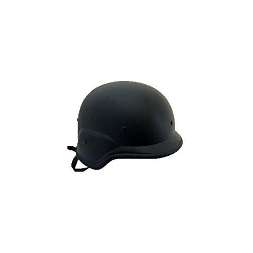 【ノーブランド品】 SWAT仕様 M88 フリッツヘルメット 黒 ブラック
