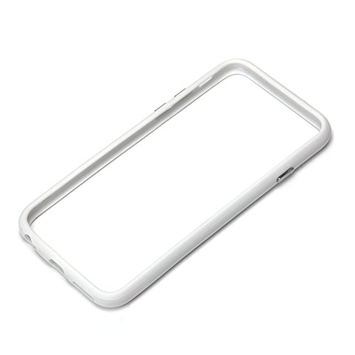 否認するたらいそれによってiJacket iPhone 6用 ハイブリッドバンパー ホワイト PG-I6BP02WH PG-I6BP02WH