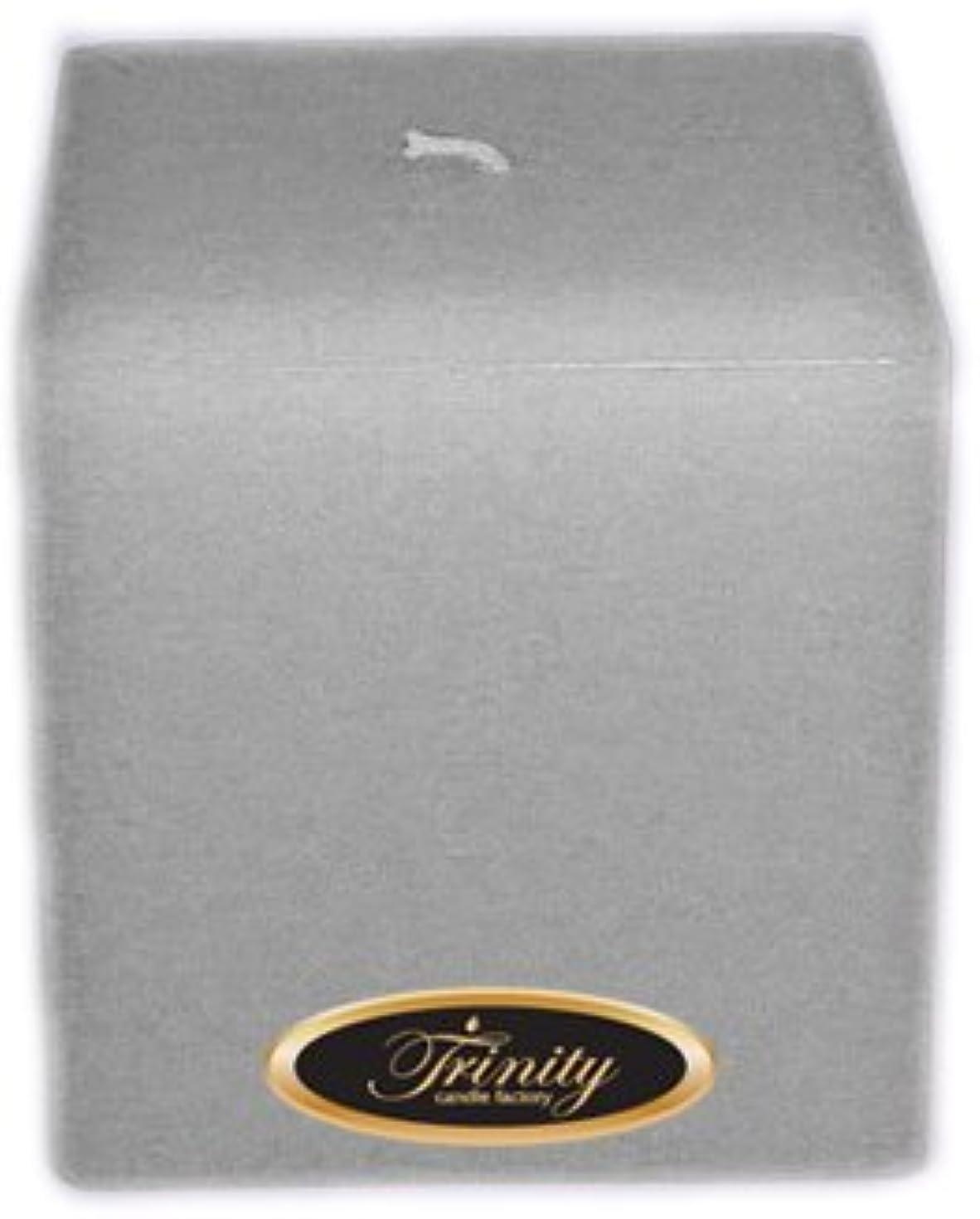 ケージ生むキルスTrinity Candle工場 – Fresh Linen – Pillar Candle – 正方形 – 4 x 4