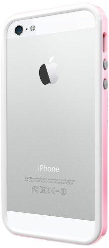 国内正規品SPIGEN SGP iPhone5/5S ケース ネオ・ハイブリッド EX スリム スノーシリーズ [シャーベット・ピンク] SGP10031