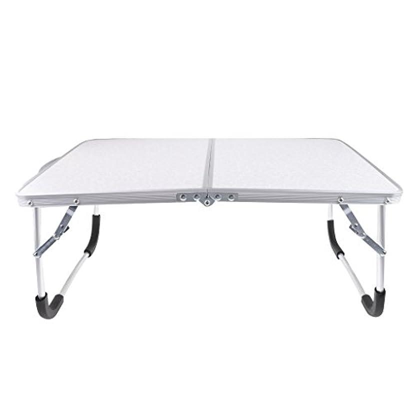 未亡人に付ける目に見えるFityle 折り畳み式 キャンプ ピクニック用 テーブル 屋外 ポータブル 軽量 折りたたみテーブル 全6色