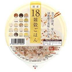 アイズ 国産18雑穀ごはん 160g×36個入×(2ケース)