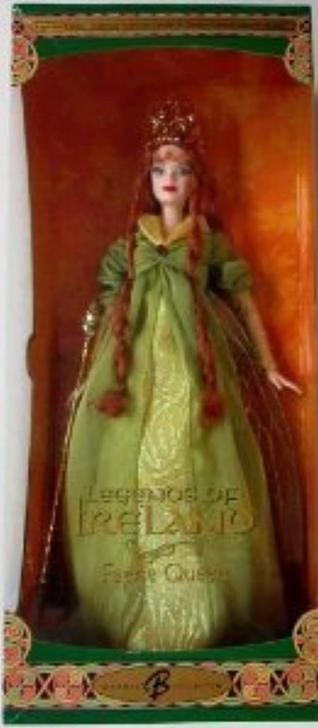 2004 Legends of Ireland Faerie Queen Redhead Barbie(バービー) Doll ドール 人形 フィギュア(並行輸入)