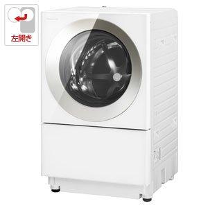 パナソニック 7.0kg ドラム式洗濯機【左開き】シャンパンPanasonic Cuble(キューブル) NA-VG720L-N