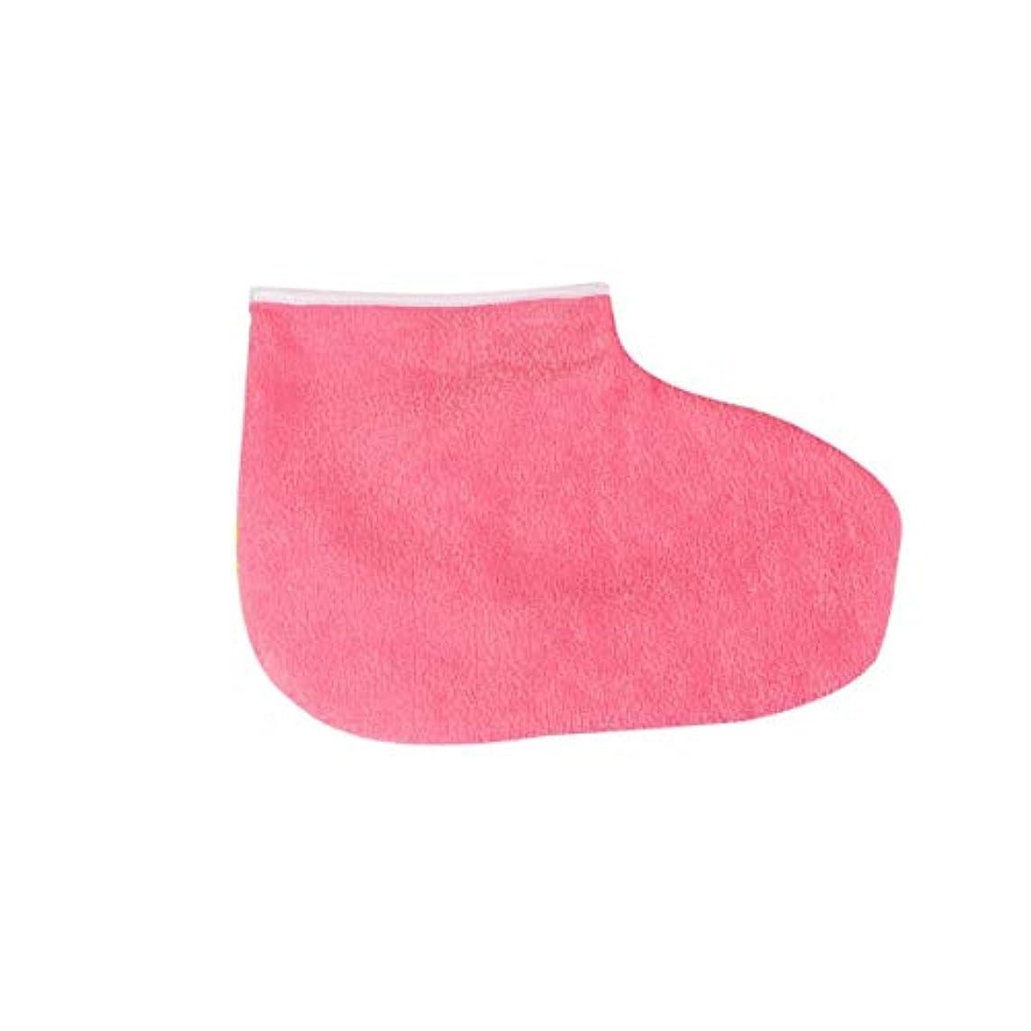 祖母お母さん願うIntercorey 1ペアパラフィンワックス保護フットマスク手袋足肌保湿スリーブ美白角質除去ソックス