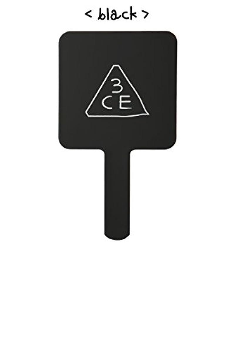 バスタブたっぷり塊スリーコンセプトアイズ 3CE ミニ ハンド ミラー #BLACK