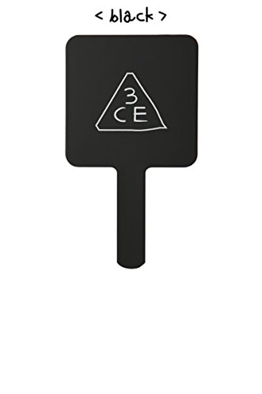なる機構作家スリーコンセプトアイズ 3CE ミニ ハンド ミラー #BLACK