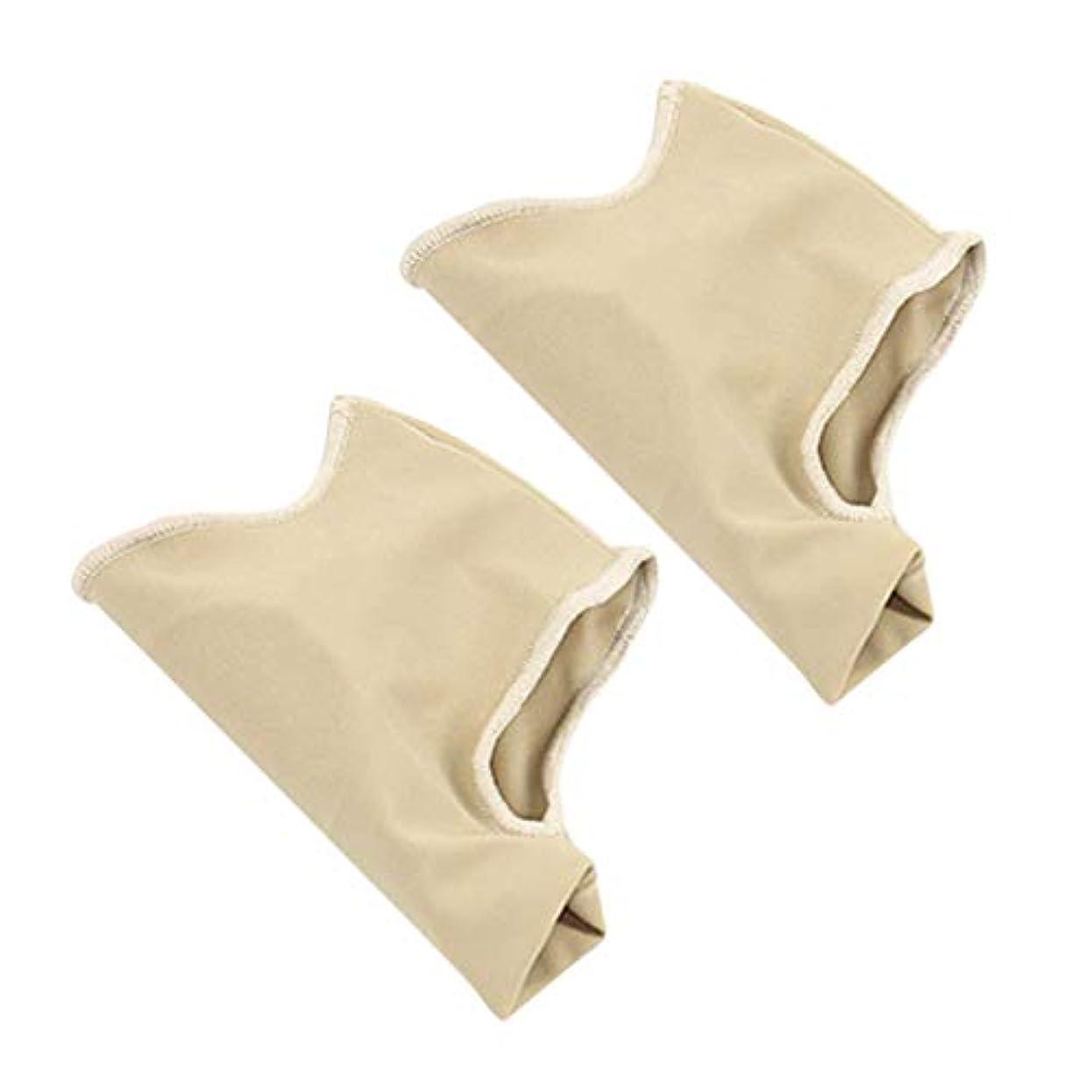 リー不当運賃SUPVOX 1組の腱膜瘤矯正腱膜瘤プロテクタースリーブ足の親指をリラックスさせるための足指矯正カバー