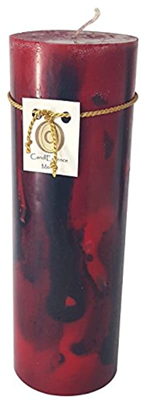 クローゼット共和国職人(Large) - Handmade Scented Candle - Long Burning Pillar - Merlot Scent (Large)