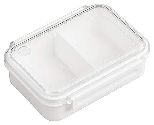 OSK 弁当箱 まるごと 冷凍弁当 ホワイト 500ml タイトボックス レシピ付 (日本製) PCL-1SR