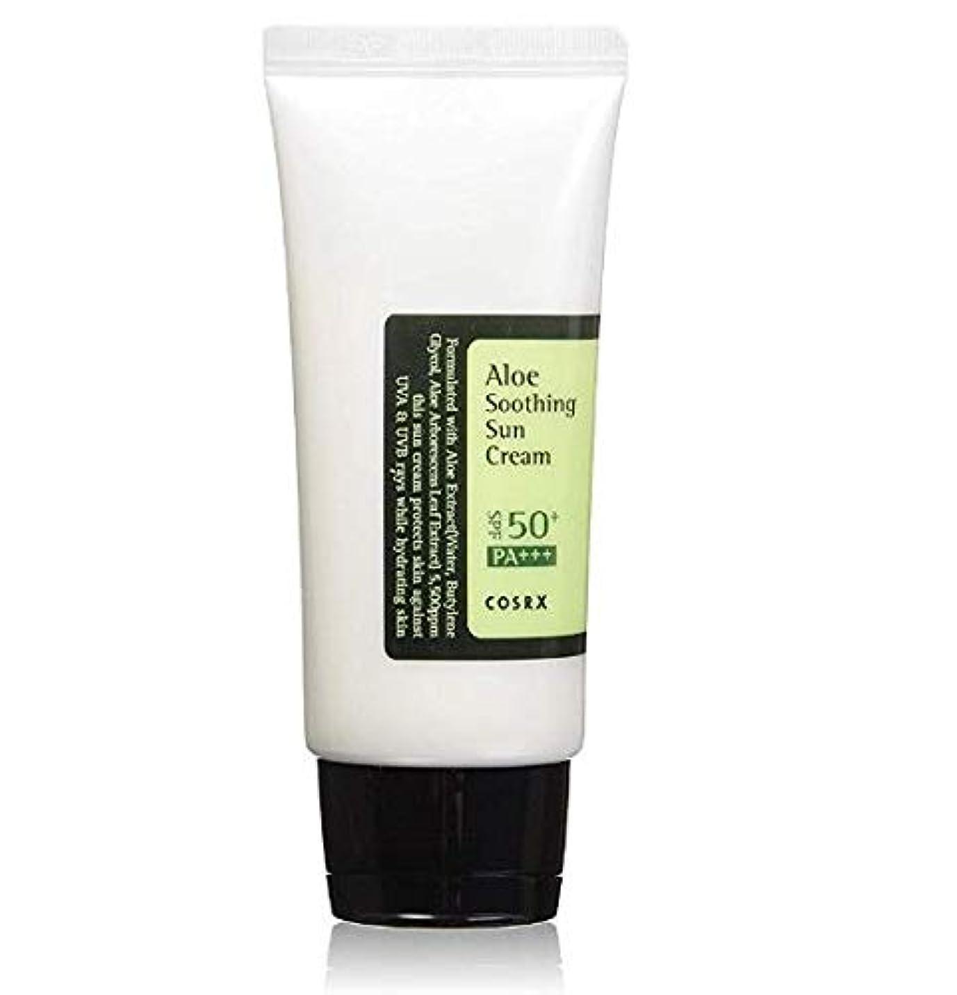 ピースダイヤル単調なCOSRX Aloe Soothing Sun Cream 50ml [並行輸入品]