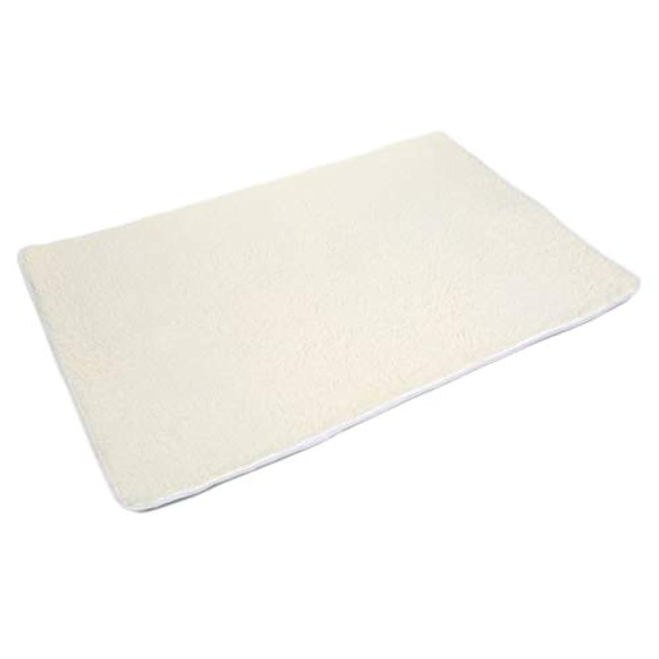 飾る乳白色頂点Saikogoods ポリエステル繊維ハウスリビングルームカーペットアンチスキッドシャギーラグマットフロアマット環境に優しい染料簡単にきれいにします ベージュイエロー