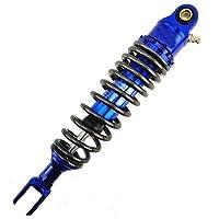 """PUXINGPING- ヤマハ用ユニバーサル320ミリメートル/ 12.5"""" オートバイのエアショックアブソーバーリアサスペンション (Color : Blue 320mm Fork)"""