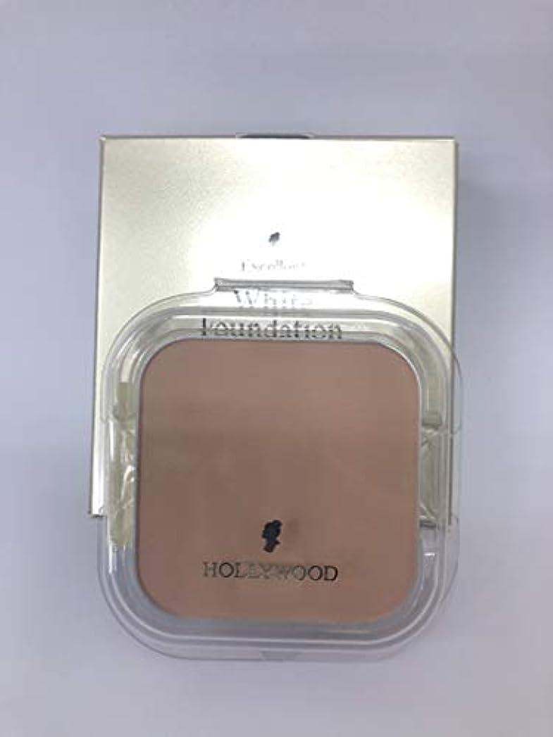 データベース考古学的な足ハリウッド化粧品 エクセレント ホワイトファンデーション(レフィル)32