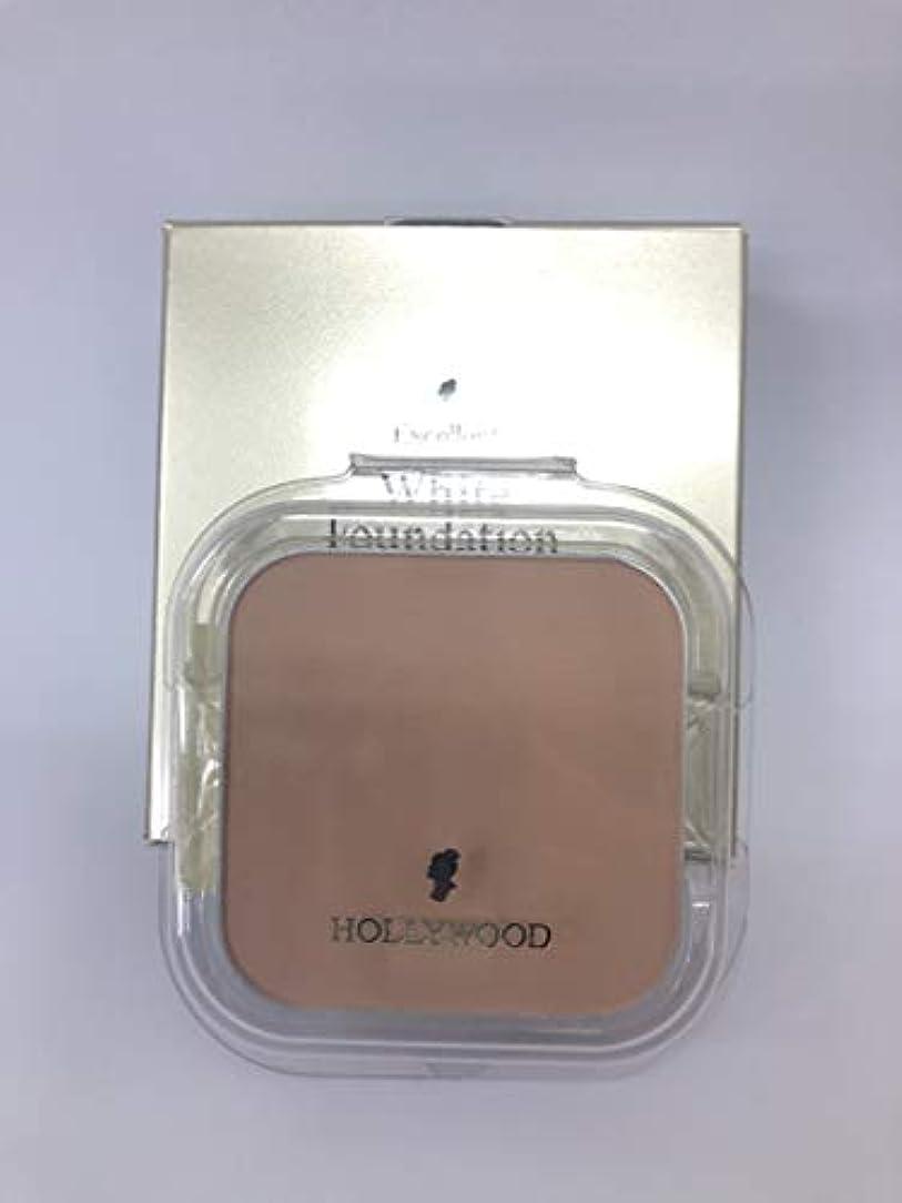 スロベニア藤色あごひげハリウッド化粧品 エクセレント ホワイト ファンデーション 11 (パフ付)