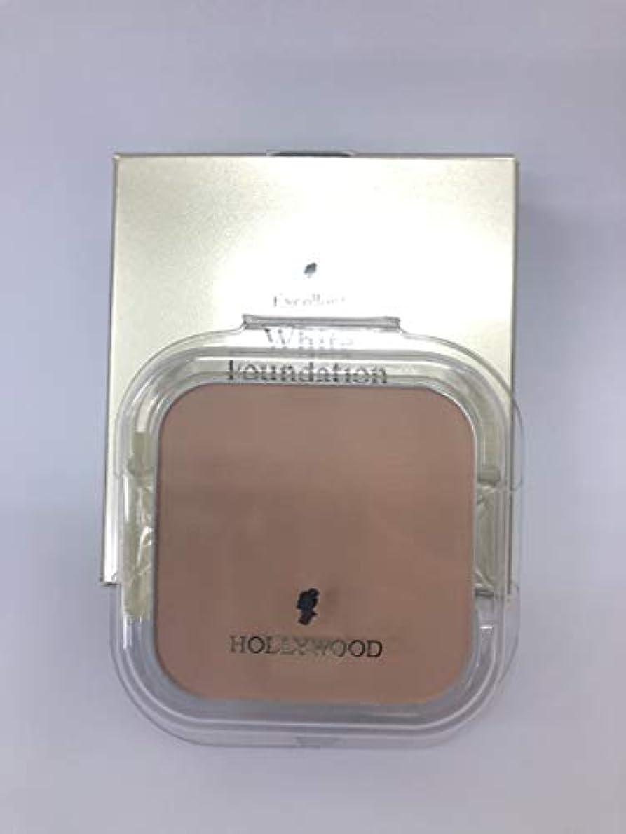 スナッチ昇る巨大ハリウッド化粧品 エクセレント ホワイト ファンデーション 11 (パフ付)