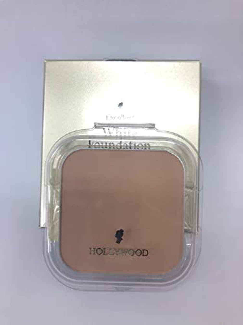 どうやら活気づけるゴージャスハリウッド化粧品 エクセレント ホワイト ファンデーション 11 (パフ付)