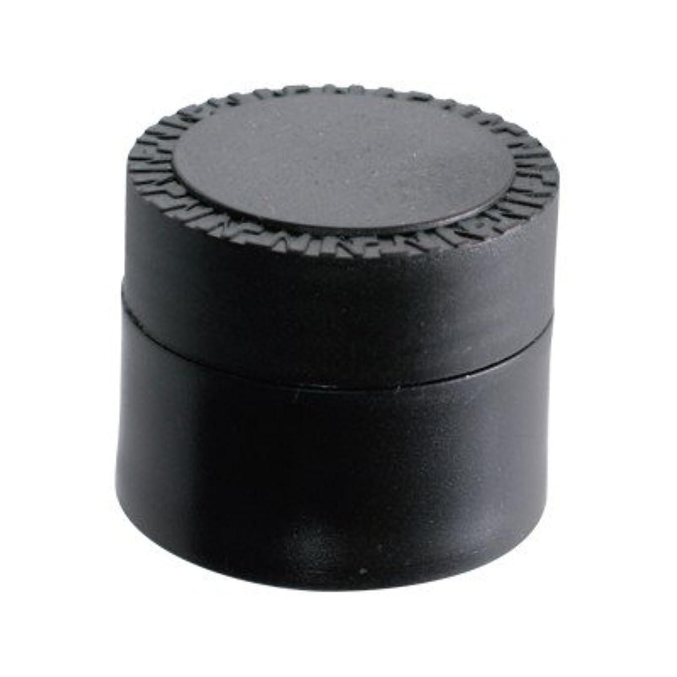 指ダーベビルのテス石NFS メルティージェル 空容器 黒 18g