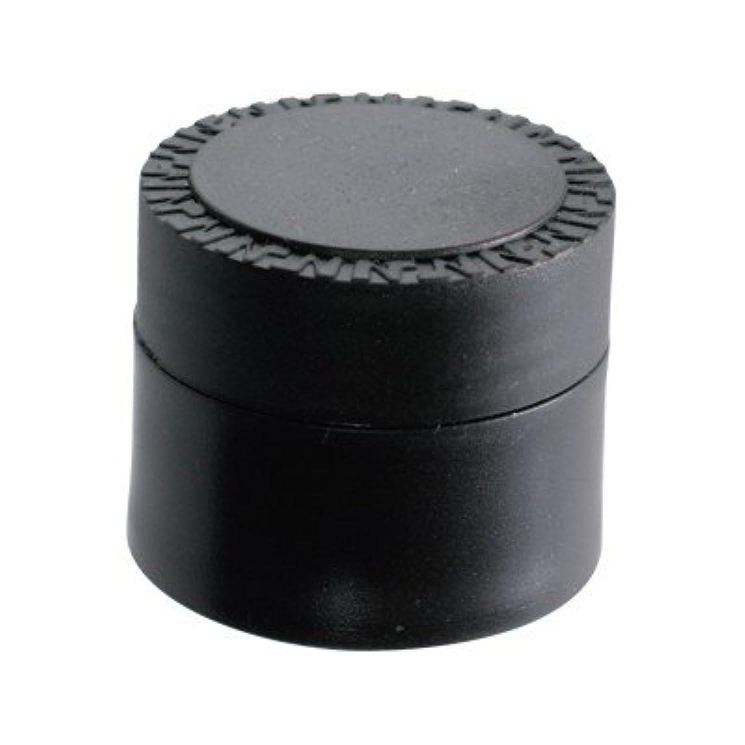 鉱石代わりに鼻NFS メルティージェル 空容器 黒 18g
