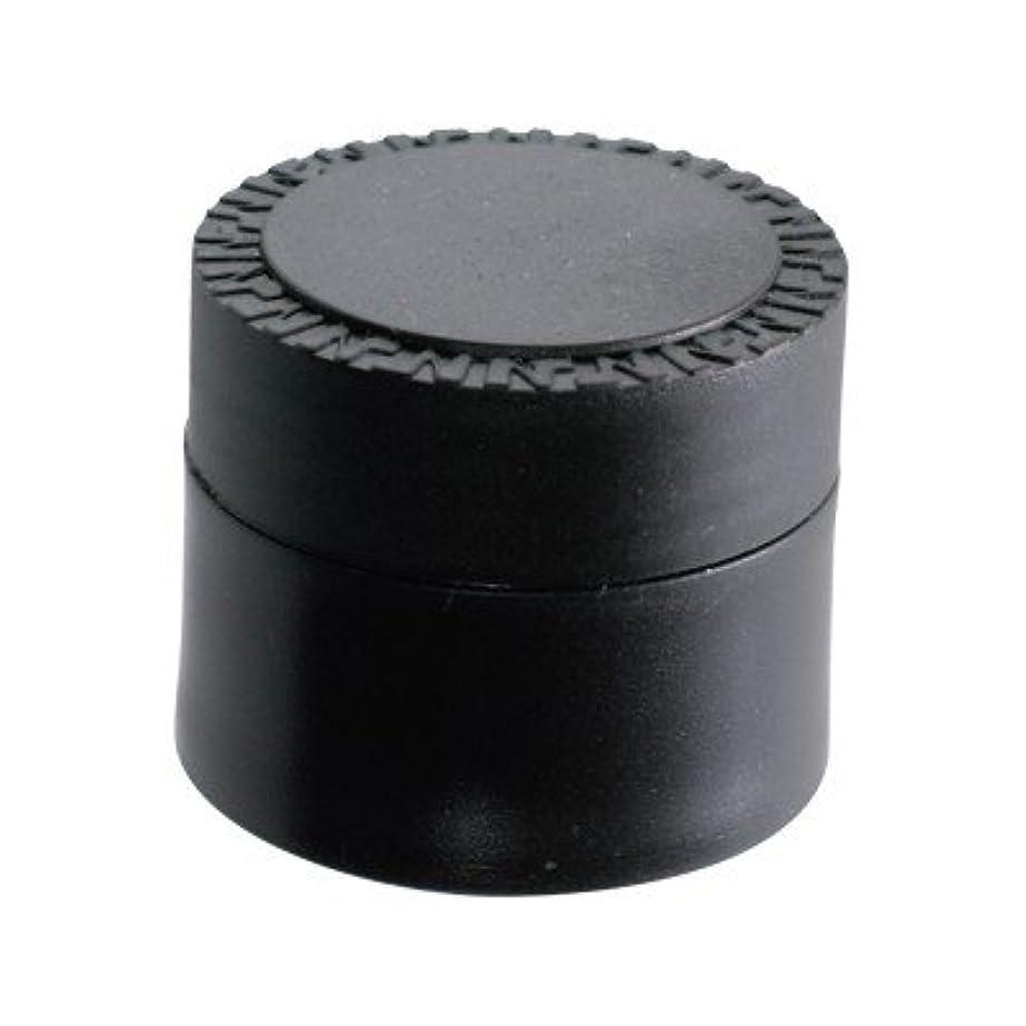 枯渇つぶすアブストラクトNFS メルティージェル 空容器 黒 18g