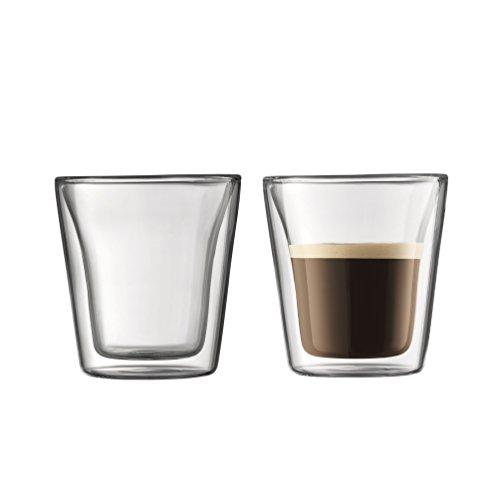 【正規品】 BODUM ボダム BODUM CANTEEN ダブルウォールグラス 100ml (2個セット) 10108-10J