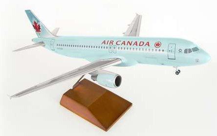 1: 100 スカイマークスSuprem Air Canada エアバス 320 with Landing Gear and Wood Stand (並行輸入)