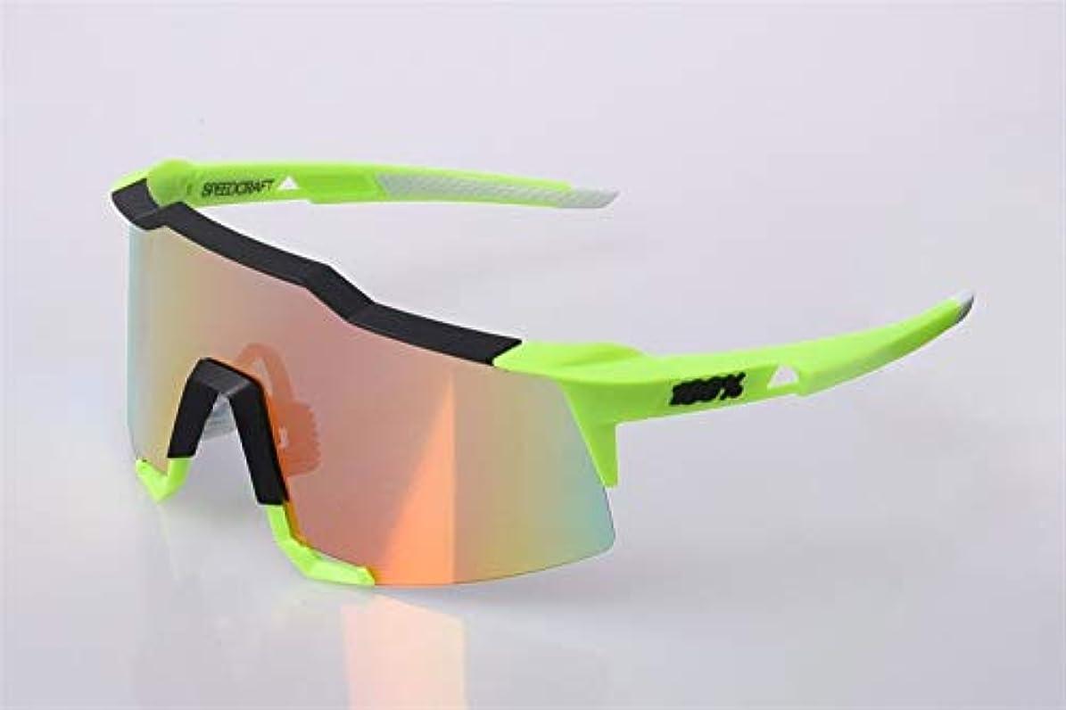 提唱するフォアマンばかげているFELICIAAA スポーツ用サングラスサイクリンググラス、交換可能なレンズ3個付き、色変更全天候用 (色 : D)