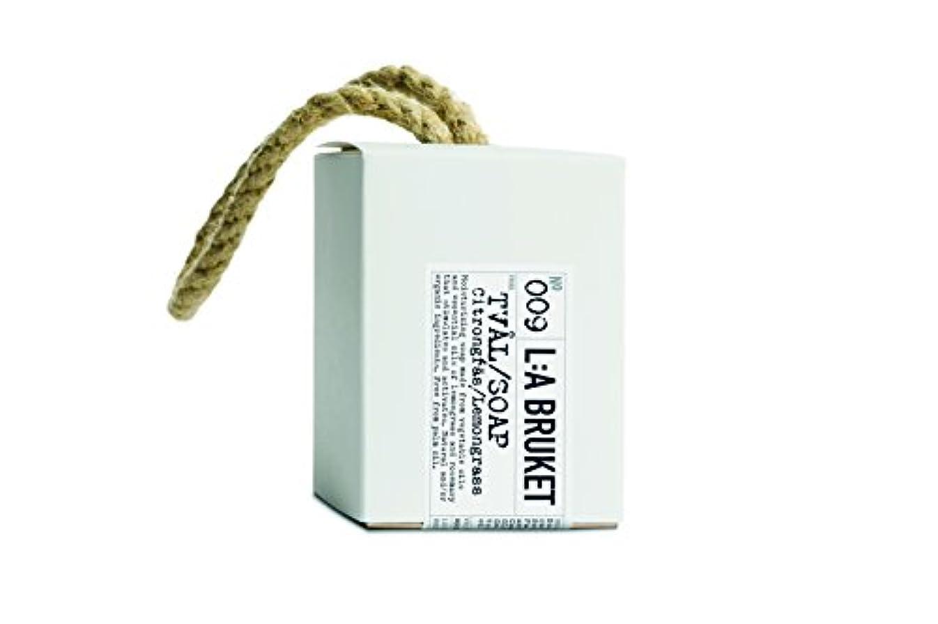 項目撤退ブッシュL:a Bruket (ラ ブルケット) ロープソープ (レモングラス) 240g