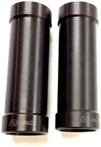 H2C(エイチツーシー) フロントフォークカバー アルミ ブラック Rebel250/Rebel500(17) APMKGAH51410ZA