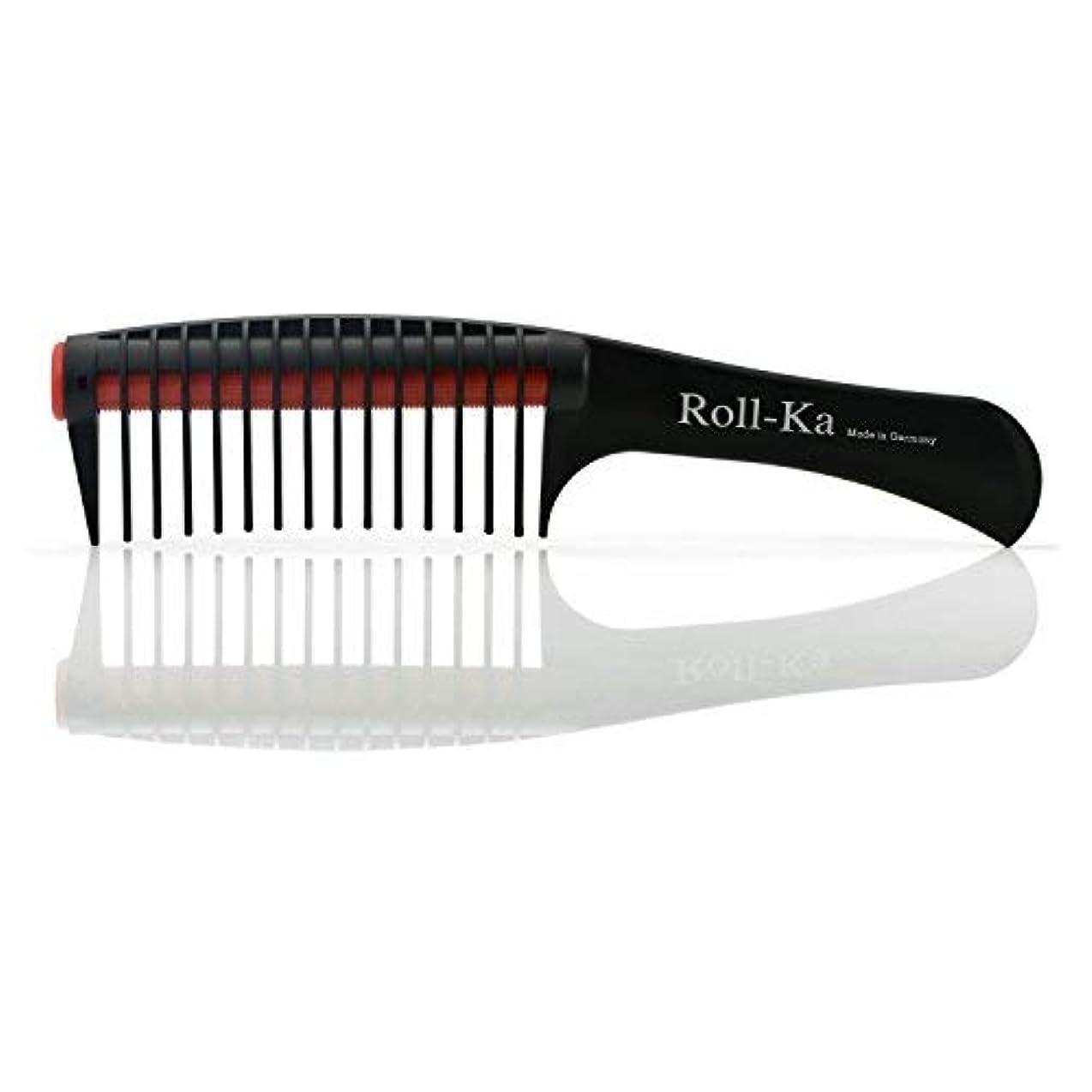 戸惑うマイクキリンTriumph Technic Roll-Ka Anti Splicing Hair Comb 9