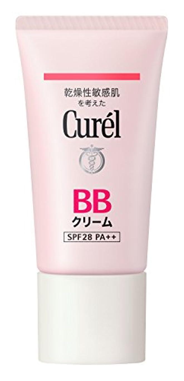 ベース素晴らしいです葬儀キュレル B Bクリーム 明るい肌色 35g