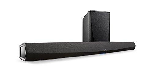 Denon HEOS-HCHS2 サウンドバー HEOS/ホームシネマ/4K UltraHD/ARC/Wi-Fi/Bluetooth/ハイレゾ/Airplay2対応/ワイヤレスサブウーファー ブラック HEOS-HCHS2-K