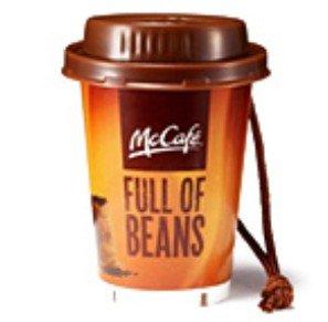 マック カフェ カップ【ホット】 【McDonald's FOOD STRAP】マクドナルド フードストラップ【06】