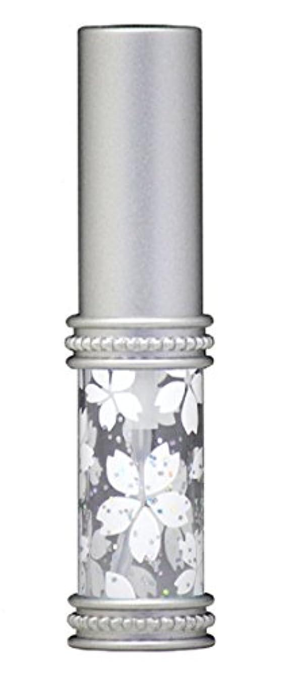 講師パーチナシティするだろうヒロセアトマイザー メタルラメさくらアトマイザー 16178 WT(メタルラメさくら) 真鍮玉レット飾り付