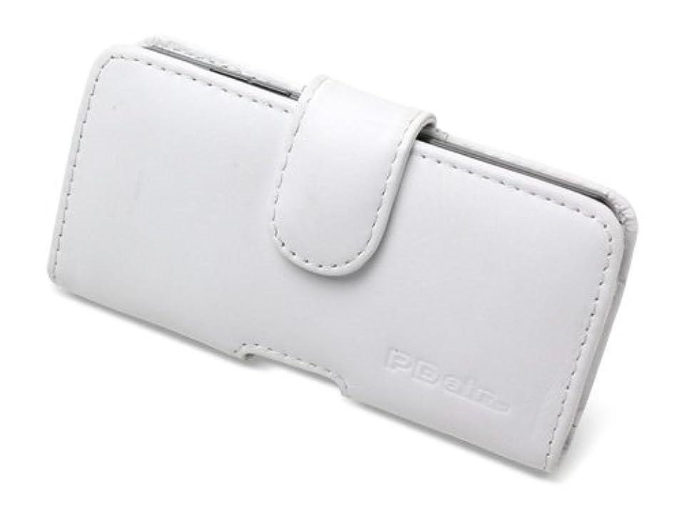 モニターエジプトねじれミヤビックス PDAIR レザーケース for Optimus it L-05D docomo ポーチタイプ(ホワイト)