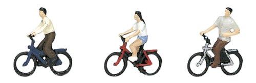 KATO Nゲージ 自転車に乗った若者 24-215 ジオラマ用品