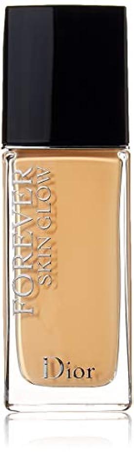 相談忠誠米国クリスチャンディオール Dior Forever Skin Glow 24H Wear High Perfection Foundation SPF 35 - # 3W (Warm) 30ml/1oz並行輸入品
