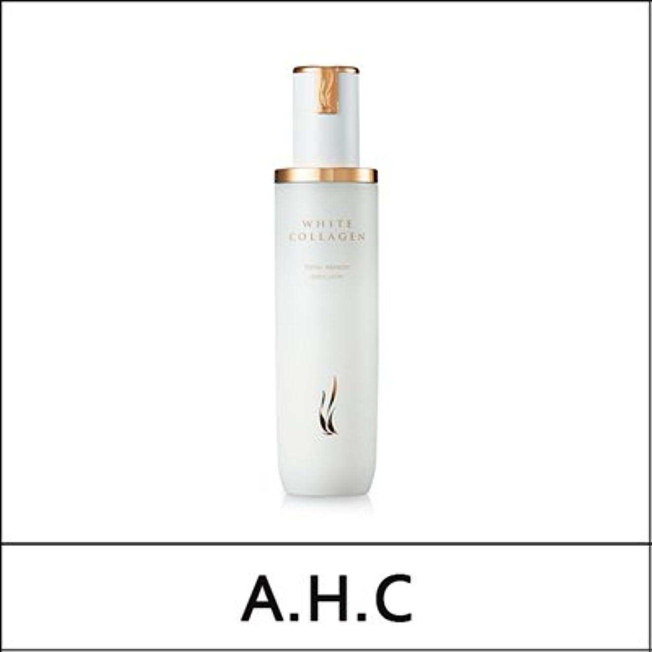 致命的秋滑りやすいA.H.C (AHC) White Collagen Total Remedy Emulsion 130ml/A.H.C ホワイト コラーゲン トータル レミディ エマルジョン 130ml [並行輸入品]
