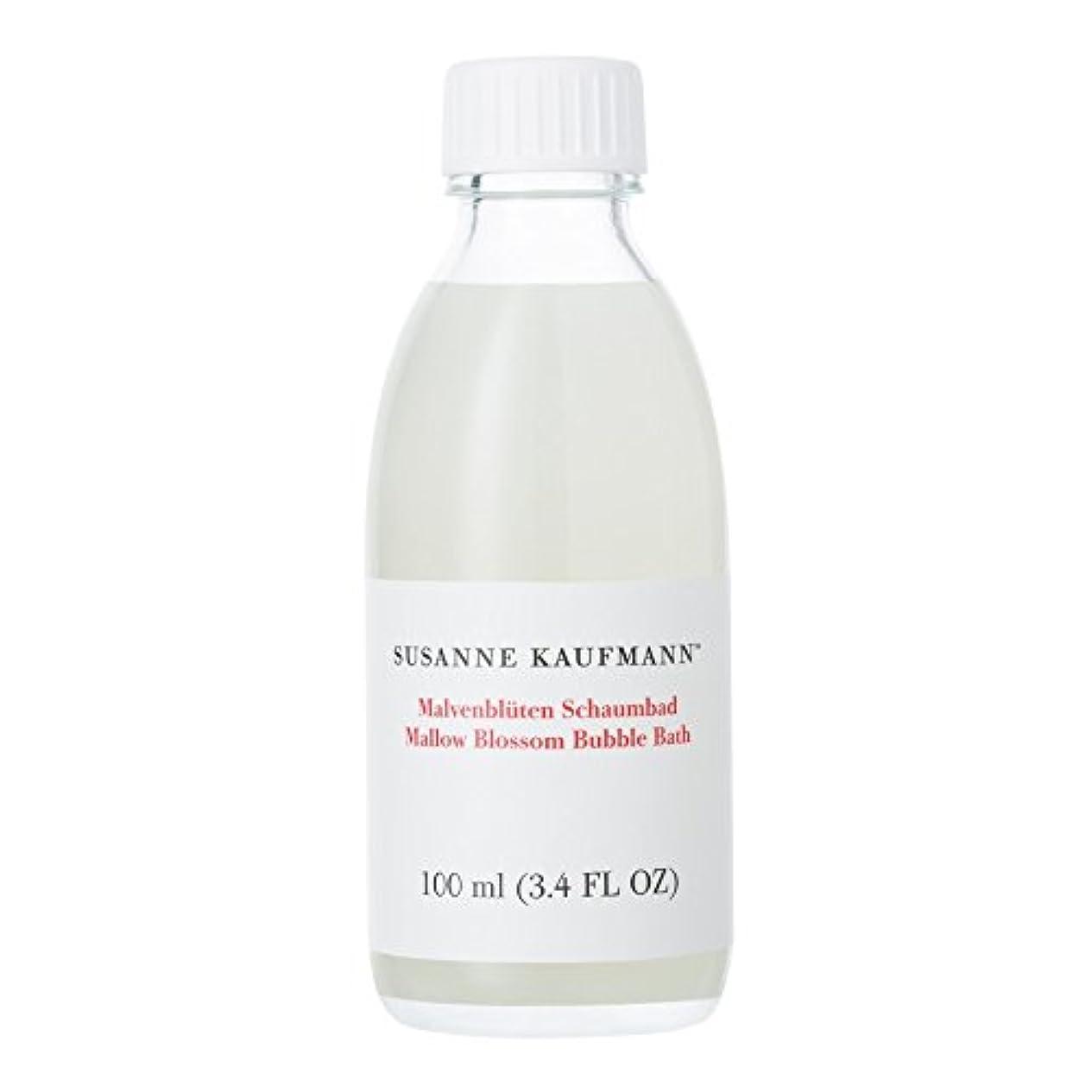 木製間接的首Susanne Kaufmann Mallow Blossom Bath 100ml - スザンヌカウフマンアオイ花バス100ミリリットル [並行輸入品]