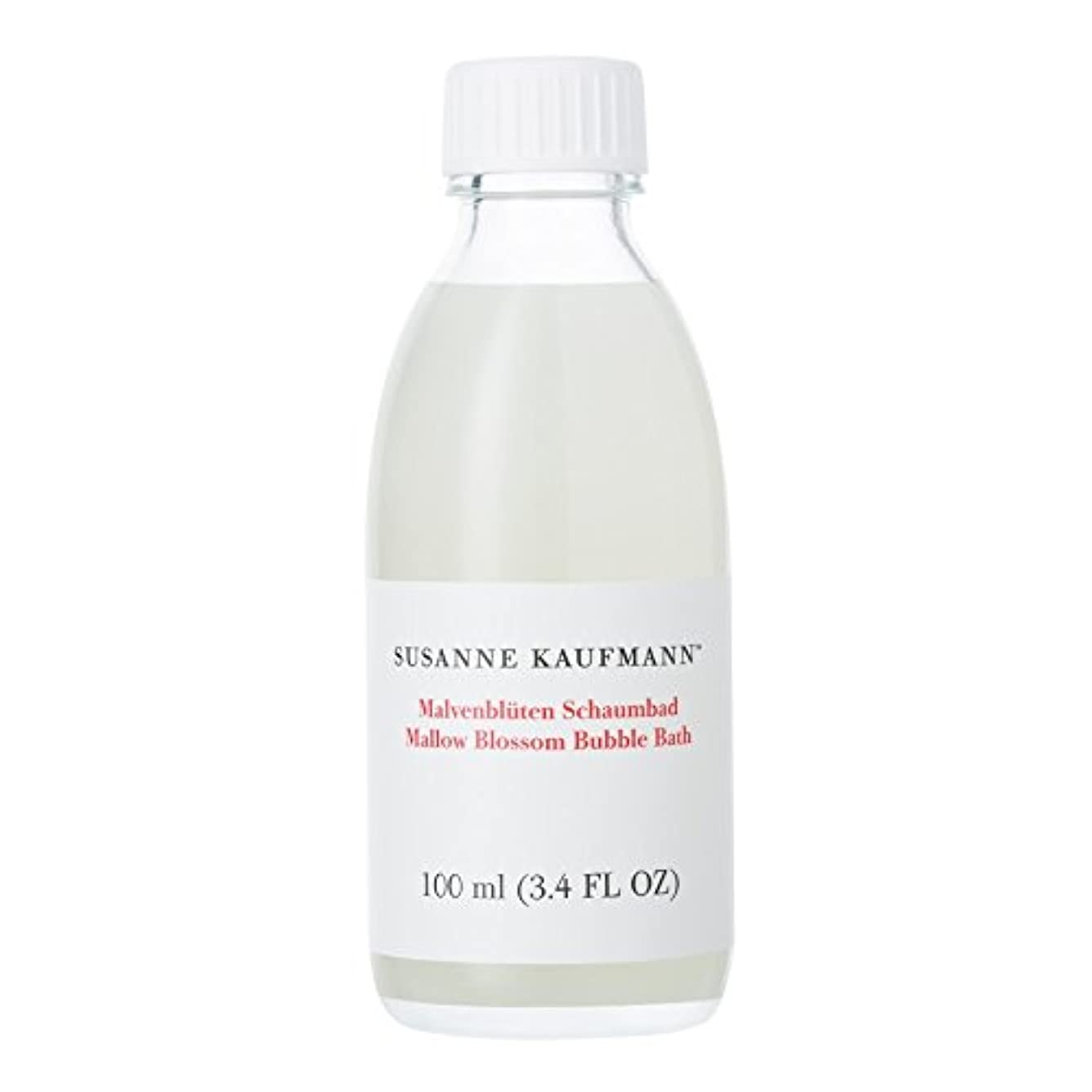 災害省略奨励Susanne Kaufmann Mallow Blossom Bath 100ml - スザンヌカウフマンアオイ花バス100ミリリットル [並行輸入品]