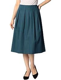 (ノーリーズ) NOLLEY'S グログランインゴムスカート 8-0035-5-06-002