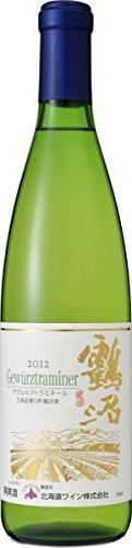 北海道ワイン 鶴沼 ゲヴュルツトラミネール 12 白 720ml