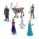 ディズニー アナと雪の女王 ミニフィギュア6体セット Disney Frozen Exclusive 6-Piece PVC Figure Play Set【並行輸入】