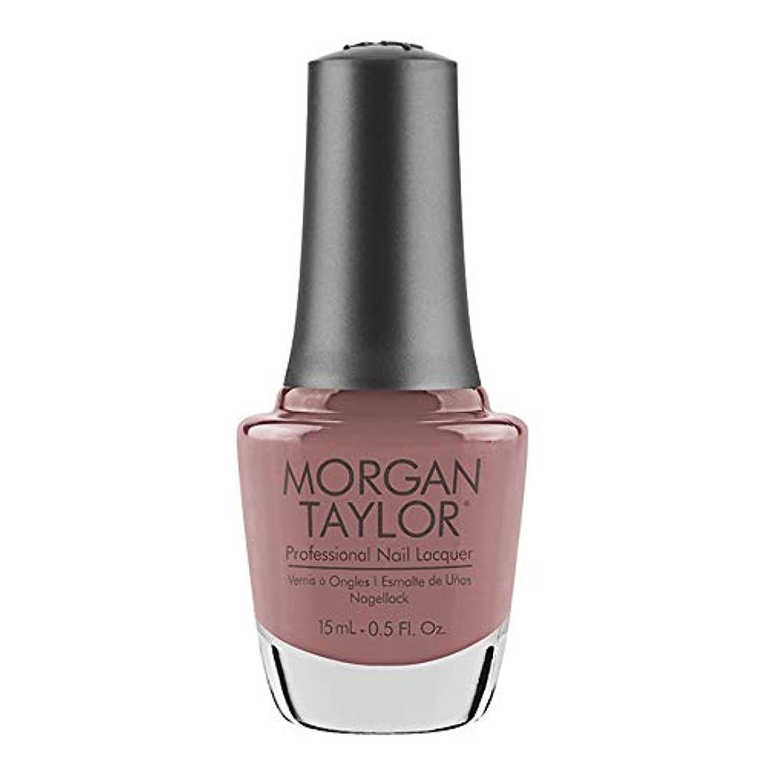 イタリック吸収剤に賛成Morgan Taylor - Professional Nail Lacquer - Mauve Your Feet - 15 mL / 0.5oz