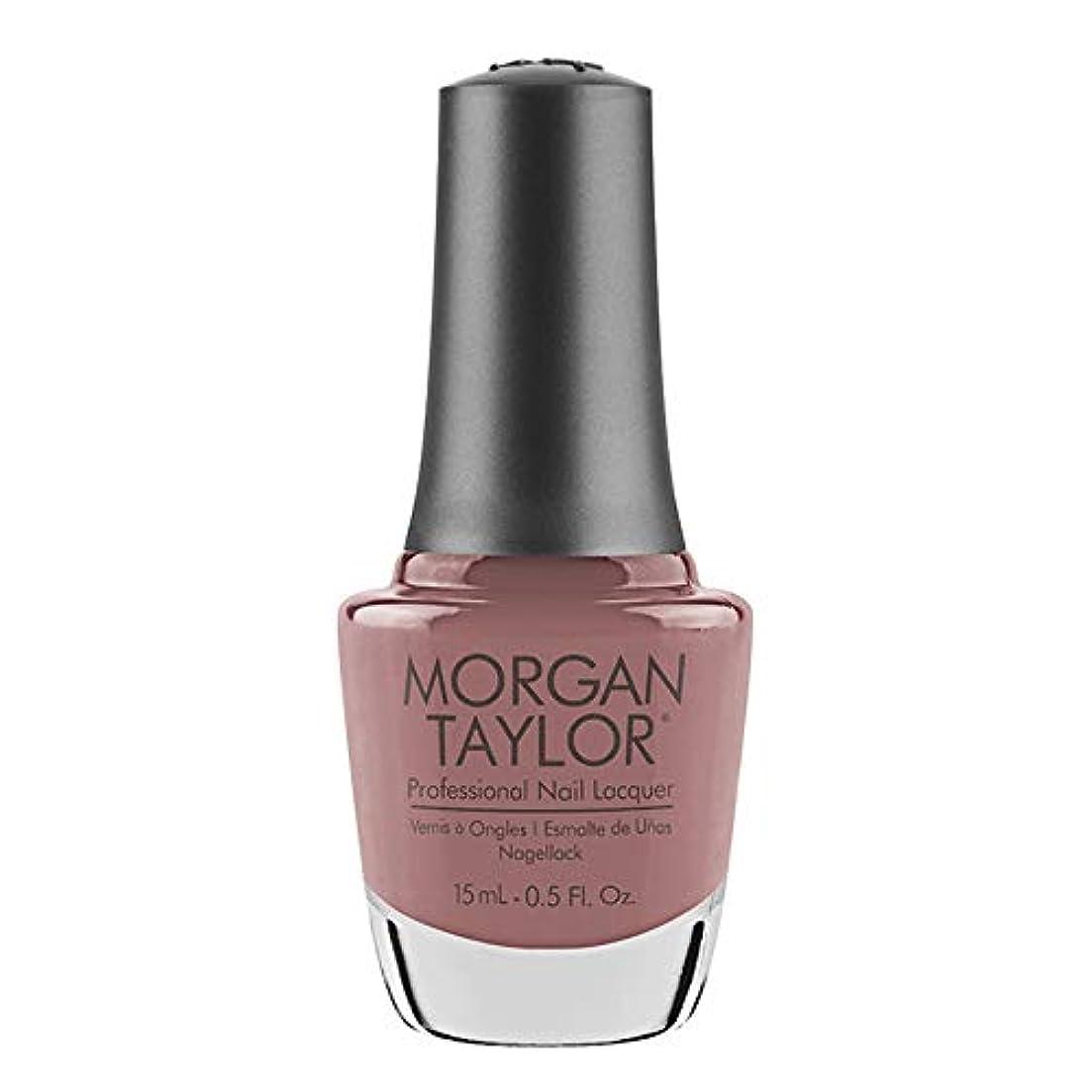 風邪をひくこんにちは白雪姫Morgan Taylor - Professional Nail Lacquer - Mauve Your Feet - 15 mL / 0.5oz
