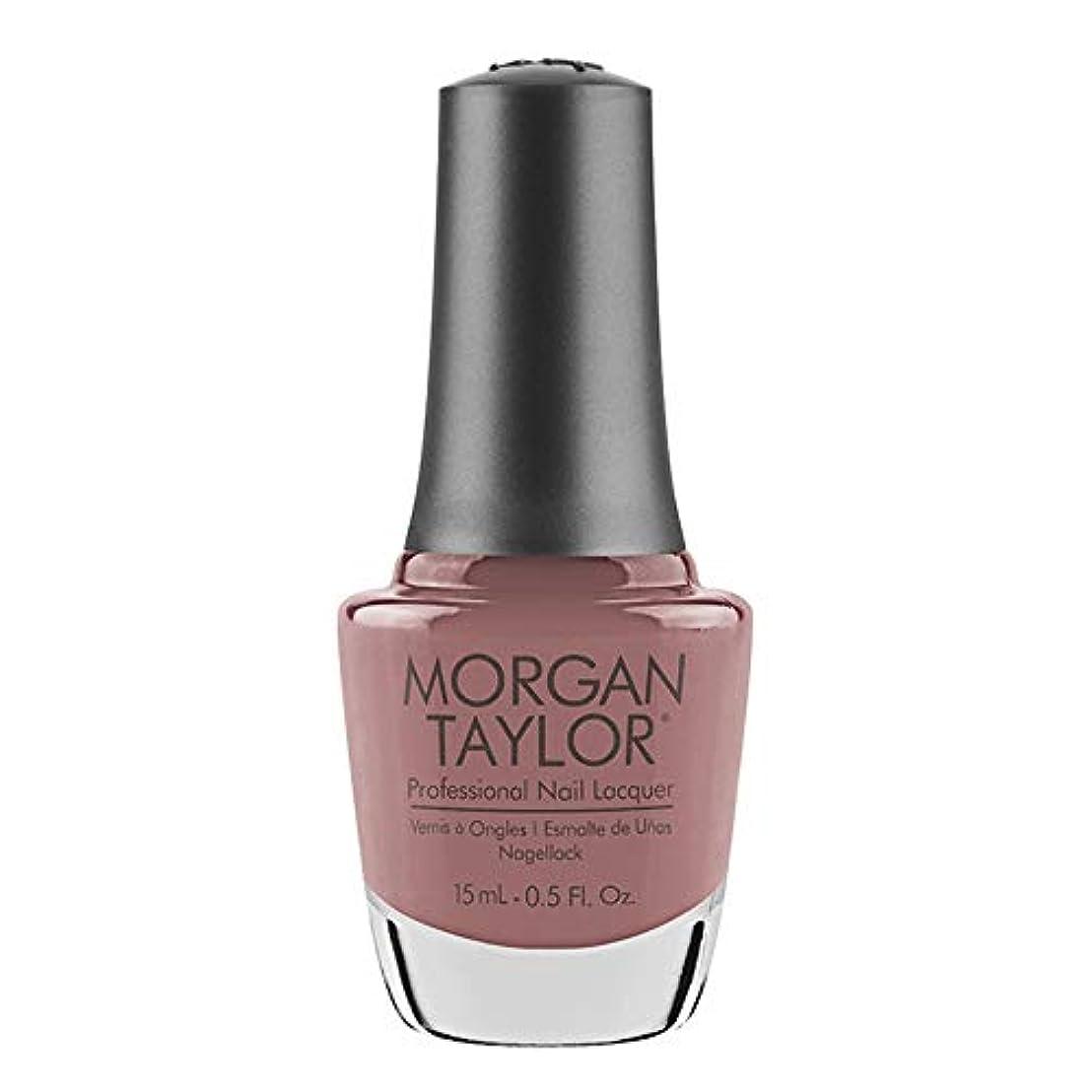 銀実行する整然としたMorgan Taylor - Professional Nail Lacquer - Mauve Your Feet - 15 mL / 0.5oz